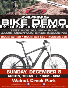 Jamis Demo Flyer